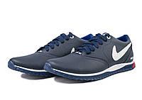 Мужские модные кожаные кроссовки Nike ACG ,синие, фото 1