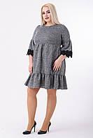 Платье женское Ульяна (серый), фото 1