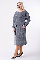 Платье женское Евгения (серый), фото 1