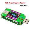 Тестер RD UM24C для проверки USB потребления и емкости устройств, а также характеристик USB кабелей