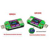 Тестер RD UM24 для перевірки USB споживання і ємності пристроїв, а також характеристик USB кабелів, фото 3