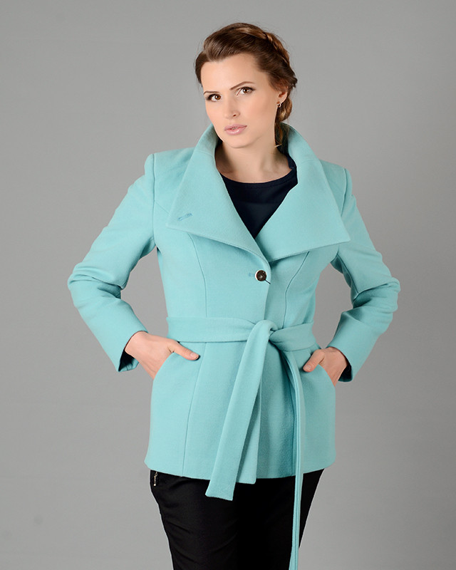 Пальто женское демисезонное 44-52, 1204