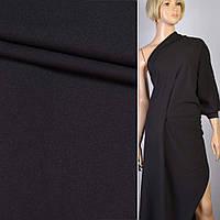 Вискоза костюмная черная ш.150 ткань