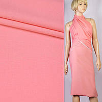 Креп розовый персиковый ш.155 ткань