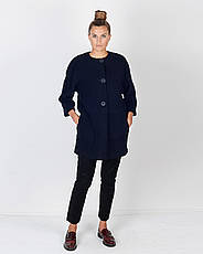 Пальто женское демисезонное, итальянская шерсть   42-50, 1254, фото 2