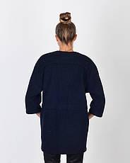 Пальто женское демисезонное, итальянская шерсть   42-50, 1254, фото 3