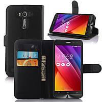 Чехол для ASUS ZenFone Go ZB500KL / ZB500KG / x00bd книжка кожа PU черный