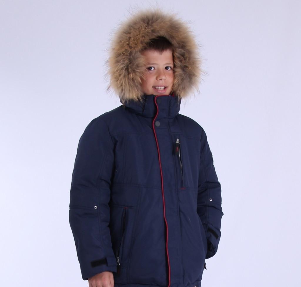 Дитяча зимова куртка для хлопчика від Snow Image 906, 140-164