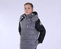 Детская зимняя куртка для мальчика от ANERNUO 1659, 130-170