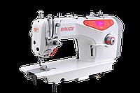 Прямострочная машина с автоматическими функциями и приспособлением чистой закрепки Bruce RA4S-N