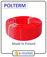 Труба для теплого пола POLTERM 16х2.0 Standard, OXYstop PE-RT + дополнительный слой EVOH. Производство Польша.