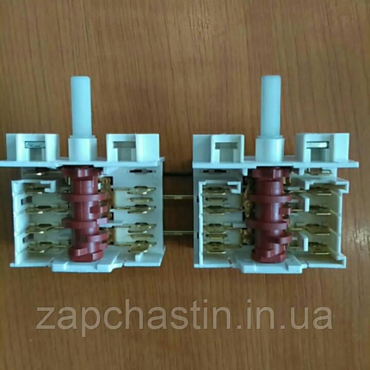 Перемикач електроплити Dreefs, 0+6 позицій (Італія) Gorenje, подвійний