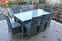 Комплект садовой мебели из искусственного ротанга на 8 персон ТМ GreenGard