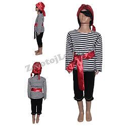 Костюм Пиратский для ребенка рост 104, 110