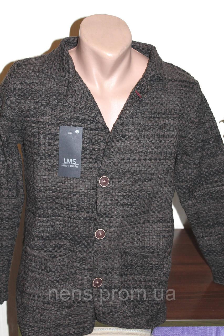 мужской вязаный пиджак Leomessi кардиган продажа цена в