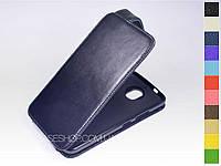 Откидной чехол из натуральной кожи для Motorola Moto G5s Plus
