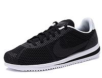 Мужские кроссовки NIKE CORTEZ ULTRA BR Black/White черно-белые