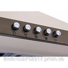 Кухонная вытяжка MONACO 60 OW/BRONZE (800), купольная вытяжка VentoLux, фото 2