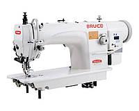 Прямострочная машина для тяжёлых материалов с шагающей лапкой BRUCE 6380B-12