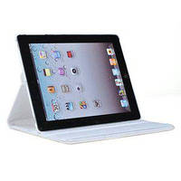 Белый вращающийся чехол  для Apple iPad 3/4