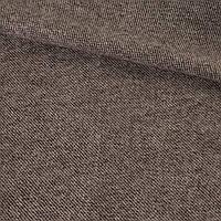 363927492 - Твид диагональ коричнево-молочный, ш.136