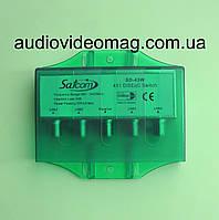 Переключатель DiSEqC 2.0 Switch 4 в 1 (дайсик) в защитном кожухе