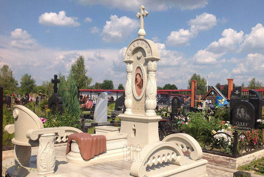 Эксклюзивный - элитный памятник с колоннами  № 17
