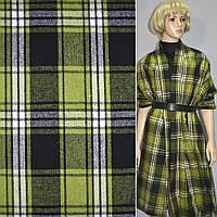 369038395 - шотландка в черно-зеленую клетку, ш.150