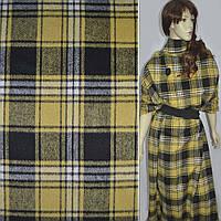 369068395 - шотландка в черно-желтую клетку, ш.150