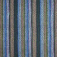Костюмная этническая (этно) ткань в полоску