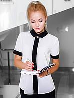 S, M, L / Женская классическая блузка Mary, белый