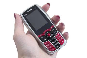 Мобильный телефон Donod DX6 2Sim, FM, Bluetooth + чехол со стильным дизайном