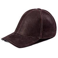 Бейсболка мужская замшевая темно-коричневая Picador БКРС-1-12-2