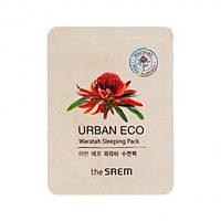 Ночная маска с экстрактом телопеи The Saem Urban Eco Waratah Sleeping Pack