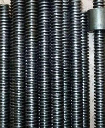 DIN 976 Шпилька с трапецеидальной резьбой Tr50х8х1000, фото 2