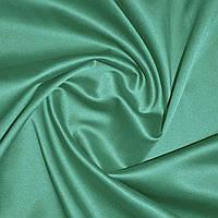 Мемори коттон атлас однотонный зеленый