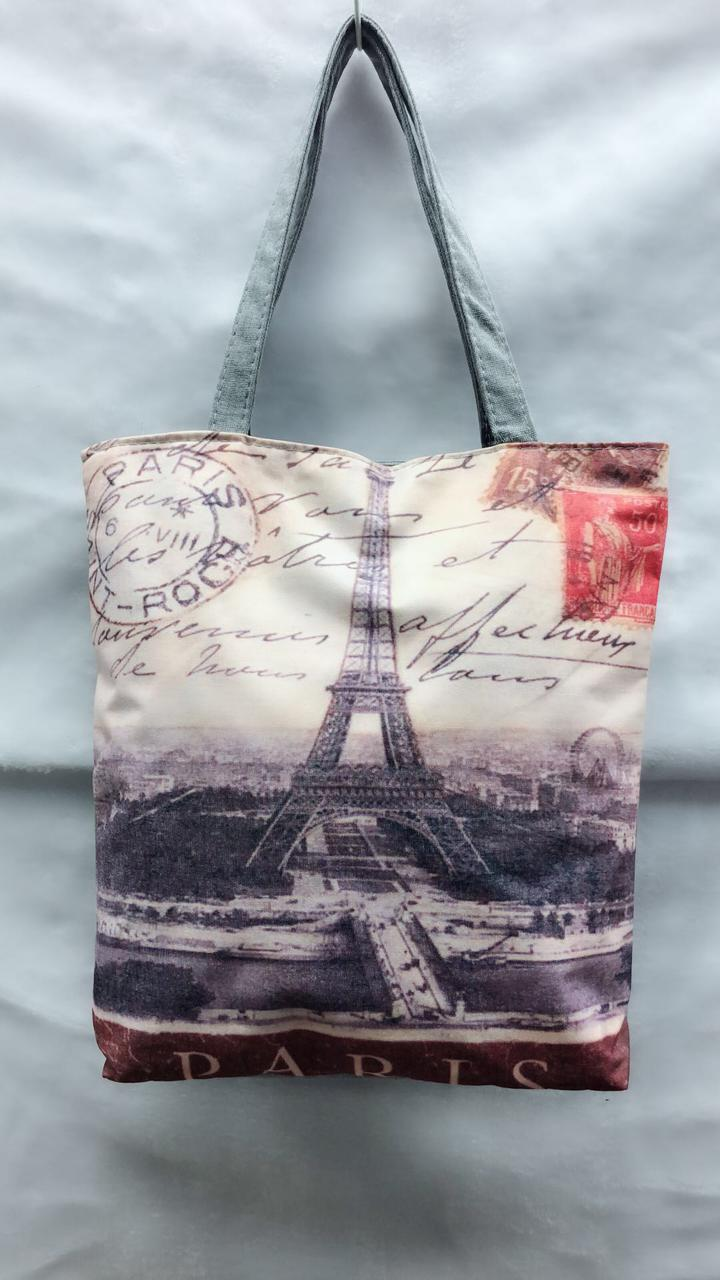Пляжная сумка Эйфелевая Башня