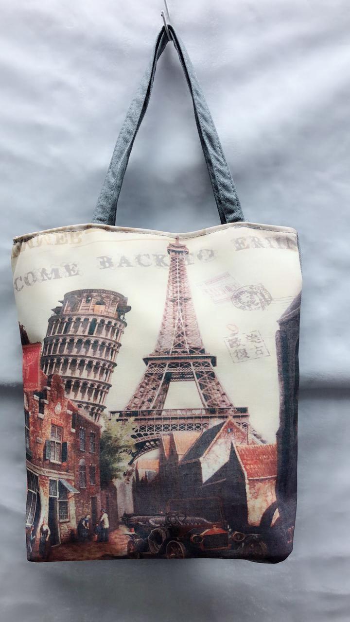 Пляжная сумка Достопримечательности мира