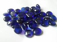 Камни стекло. Синие.