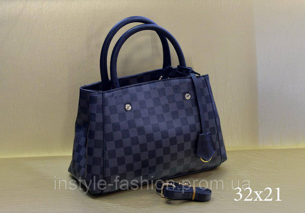 Модная сумка Louis Vuitton Louis Vuitton эко-кожа черная