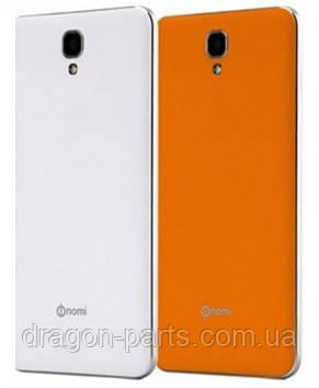 Задняя крышка Nomi i504 Dream оранжевая, оригинал, фото 2