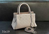 Модная сумка Louis Vuitton Louis Vuitton эко-кожа молочная