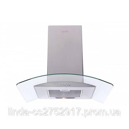 Кухонная вытяжка FERRARA 60 INOX (750) PB VentoLux, Т-образка кухонна вытяжка, фото 2