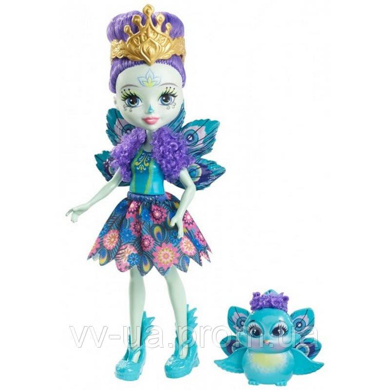 """Кукла Enchantimals """"Павлинчик Петтер"""""""