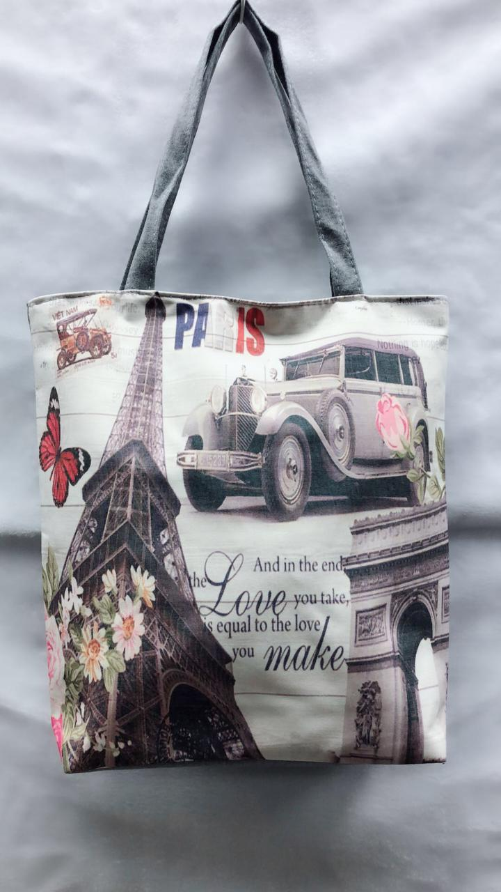 Пляжная сумка Эйфелева Башня