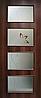Дверное полотно МДФ Альта 3 с контурным рисунком