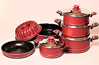 Набор посуды из 11 единиц  Hascevher