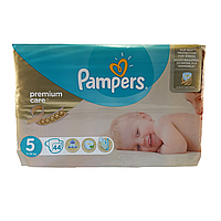Подгузник Pampers premium care Newborn Junior 5, 11-18 кг 44шт
