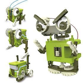DIY002 4 в 1 самоорганизующихся преобразование робот для детей подарочные игрушки