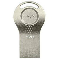 USB2.0 Flash-память 32G PNY Attache i Durable Metal Silver (FDI32GATTI-EF)